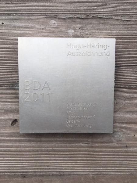 Hugo-Häring-Auszeichnung BDA 2011