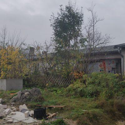 Abrissgebäude - Ostseite