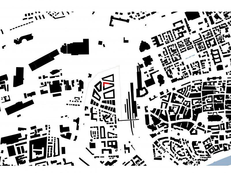 Lageplan Dichterviertel - Weiser Viertel